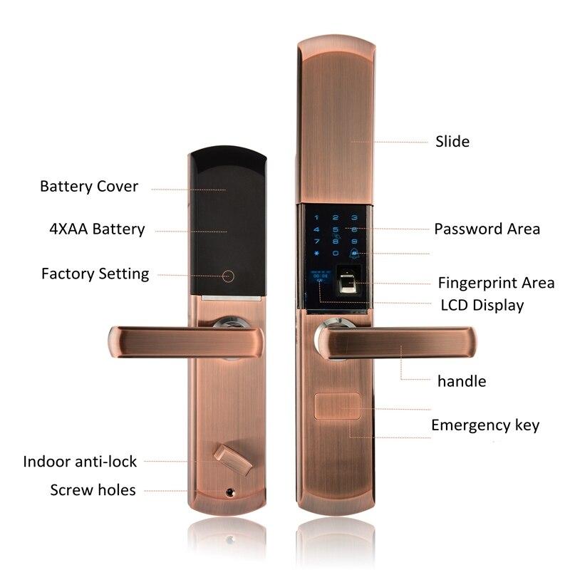 Fingerprint Smart Door Lock 2