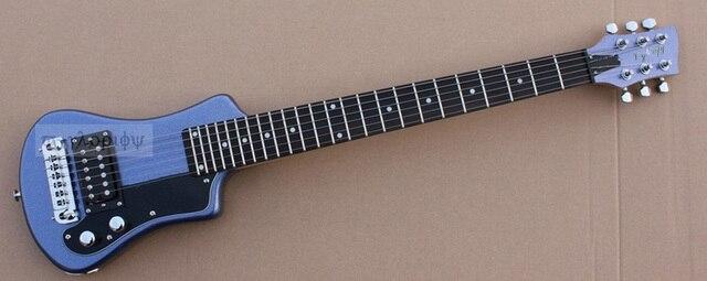 טוב באיכות hofner מיני חשמלי גיטרה נסיעות גיטרה משלוח תיק משלוח חינם