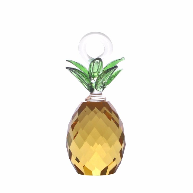 Aliexpress.com : Buy 30mm Cut Crystal Glass Pineapple Hanging Home ...