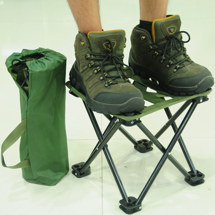 Small Folding Stool Portable Outdoor Folding Chair For