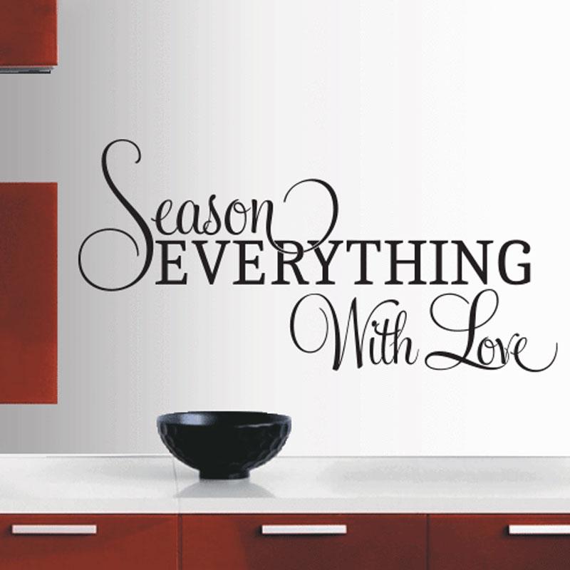 season tutto con amore adesivi per piastrelle cucina in camera stickers murali in vinile cita rimovibile