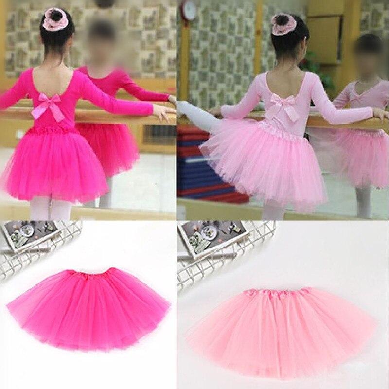 Tulle Knit Sewing Mesh Fabric DIY Net Yarn 2-8 Years Baby Girls Dance Girls Sport Tutu Skirt Organza Birthday Party Decoration