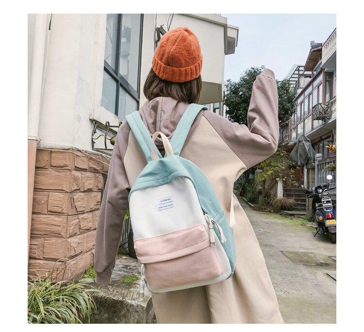 HTB1jYmIauH2gK0jSZFEq6AqMpXat 2019 New Fashion Women Backpack Leisure Shoulder School Bag For Teenage Girl Bagpack Rucksack Knapsack Backpack For Women
