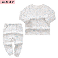 LALALUCKY Clothes For Newborn Baby Boy Clothing Set Baby S Underwear Set Clothes For Gril Long