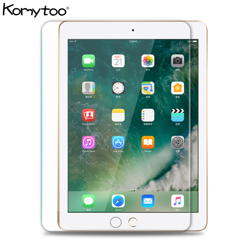 Premium Screen Protector For IPad Mini 1 2 3 4 Air Air2 2018 9.7 Tempered Glass For IPad 2 3 4 Pro 11 10.5 9H Clear Front Film
