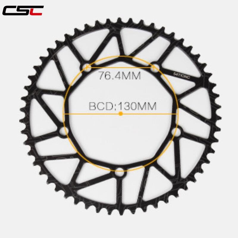 CSC 130BCD 50T//52T//54T//56T//58T Bicycle Chainring MTB Bike Chainwheel tooth plate