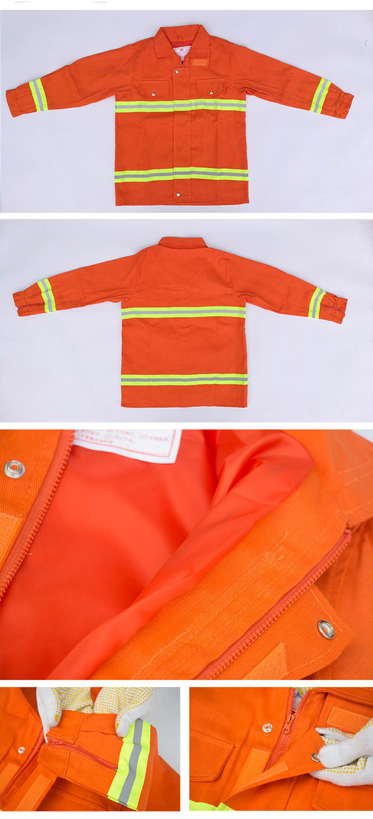 Fire Fighting Suit Safety Clothes Fireproof Flame-retardant Protective Clothing Miniature Fire Station Equipment 6 Pieces Suit (3)