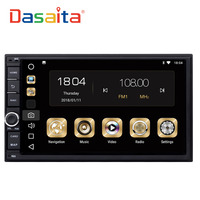 Dasaita 7 Android 8 0 Octa Core 4G 32G Universal Double 2 Din For Nissan Car
