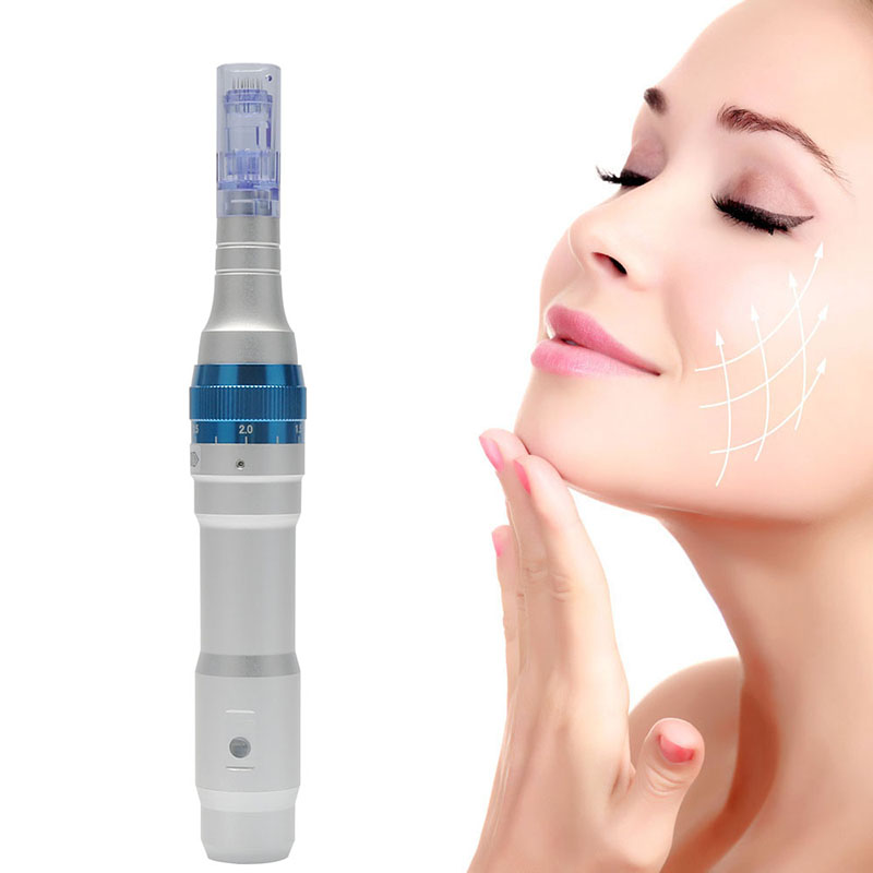 Electric Dr.Pen A6 Permanente Microblading Tattoo Needles Derma Makeup Tools Eyebrows Eyeliner Lips Micro Pen Needling Machine(China)