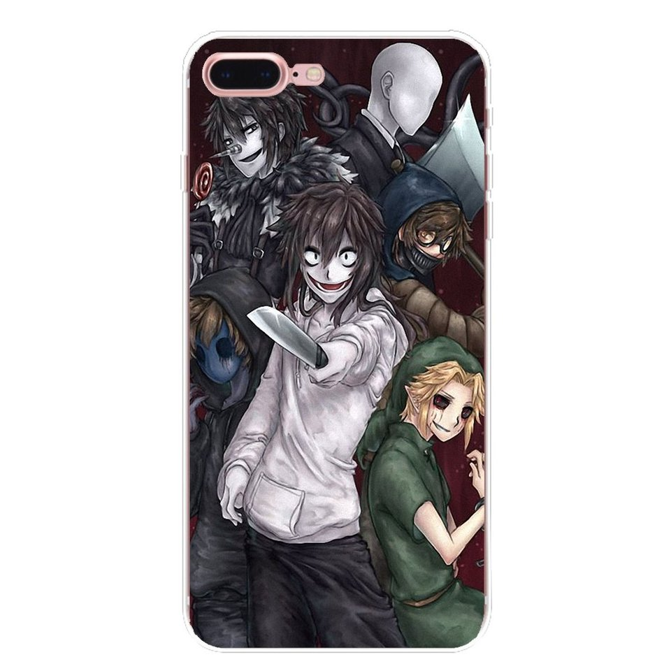 Creepypasta Ticci Toby x reader Soft Cases For iPhone XS Max