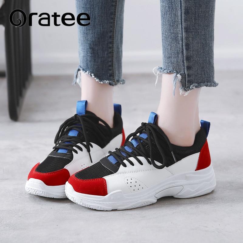 2018 blue Dames Casual Black Ulzzang Daim Taille Grande Femme Plat Femmes Sneakers Chaussures En Mode rq6pTr
