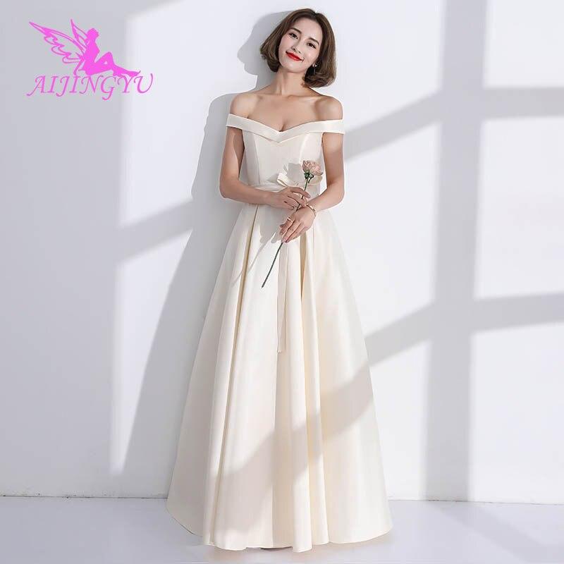AIJINGYU 2018 Sexy Elegant Dress Women For Wedding Party Bridesmaid Dresses BN732