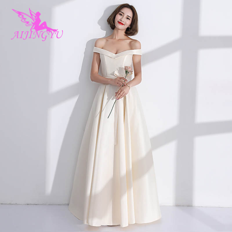 AIJINGYU 2018 sexy elegant   dress   women for wedding party   bridesmaid     dresses   BN732