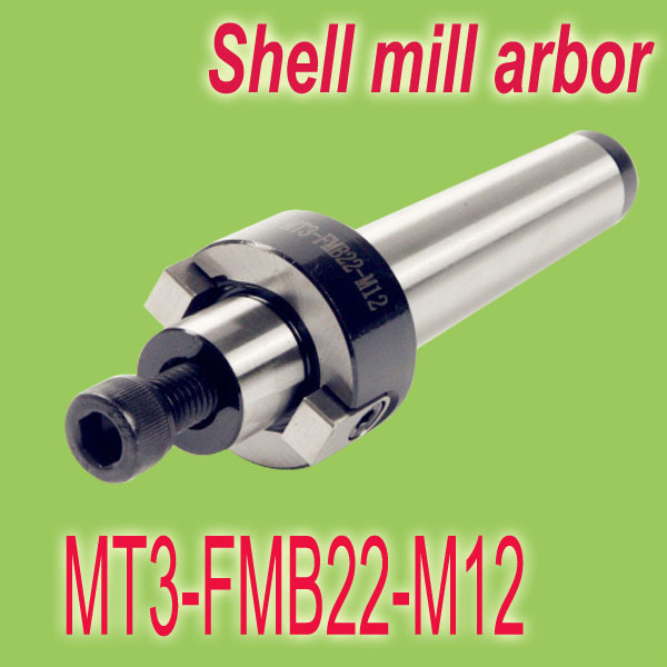 MT3-FMB22-M12 Face End Mill Cutter Milling CNC Arbor Morse Taper Tool Holder