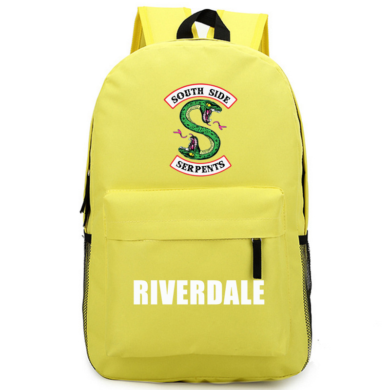 Riverdale Women Backpack Solid Schoolbag Backpack Male Solid Schoolbag Laptop Men 2018 #4