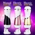 Mizzzee masculino elétrica masturbador cup, mãos livres usb 12 velocidade de carregamento 165 graus rotatio vibração masturbador, sex toys para os homens