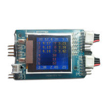 2pcs Chargery BS12 Microprocessor controlled Monitor Reader Saver Watcher TFT LCD Display 2S ~ 12S Lipo Li-ion Lifepo4 Battery(China)