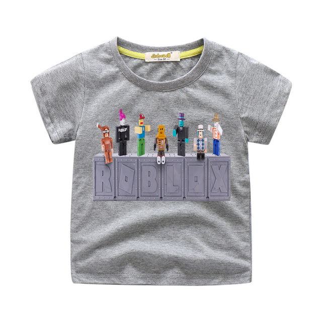 2018 Baby Summer New Roblox Game Design Tee Tops Costume For