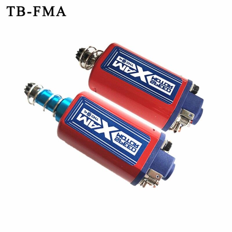 TB-FMA nouveau couple élevé haute vitesse AEG moteur Long/court fort aimant Type d'essieu pour Airsoft cicatrice P90 G3 M4 M16 Ver.2 boîte de vitesses