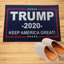 Трамп 2020 Держать Америку Великой Вытирания Ног Вход Коврик Для Прихожей Дверной Проем Ванная Комната Спальня Кухня Ковры Коврики Ковер