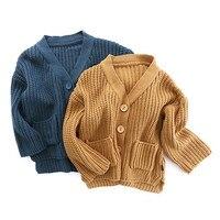 V-TREE Boys Baby Dziewczyny Chłopców Sweter Sweter na Drutach Wzór Gruby Ciepły Sweter Dla Dzieci Jesień Dziewczyny Szydełka Dzianiny Sweter