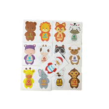 13Pcs Baby Sticker In 1-12 Months Cartoon Climbing Clothes Animal  Stickers Funny With 1 Years Old Santa Claus