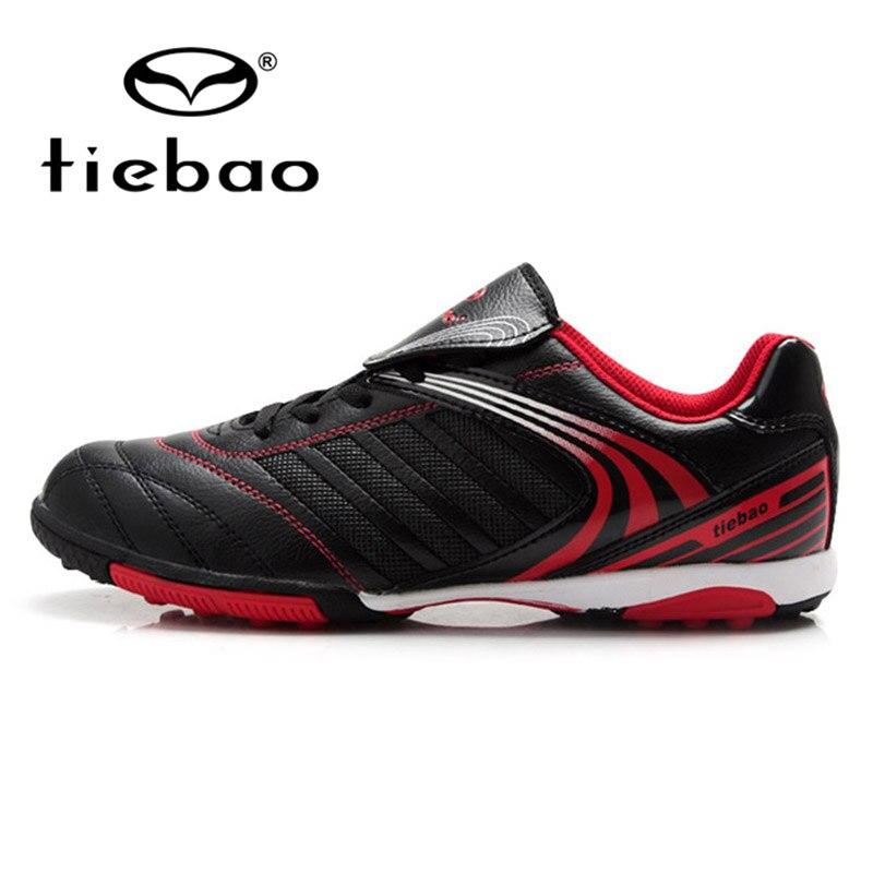 TIEBAO Sport Football Chaussures pour Garçons En Plein Air Longues Pointes Chaussures de Football Hommes Chaussures de Football Futsal chaussures 35-39