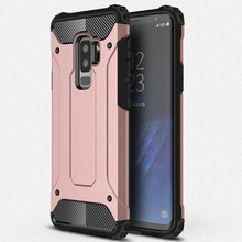 For Samsung S9 Phone Shell Hybrid PC TPU 2in1 cover For Samsung S9 PLUS Silicone Shockproof Silm Hard Tough Rubber Armor Coque цена
