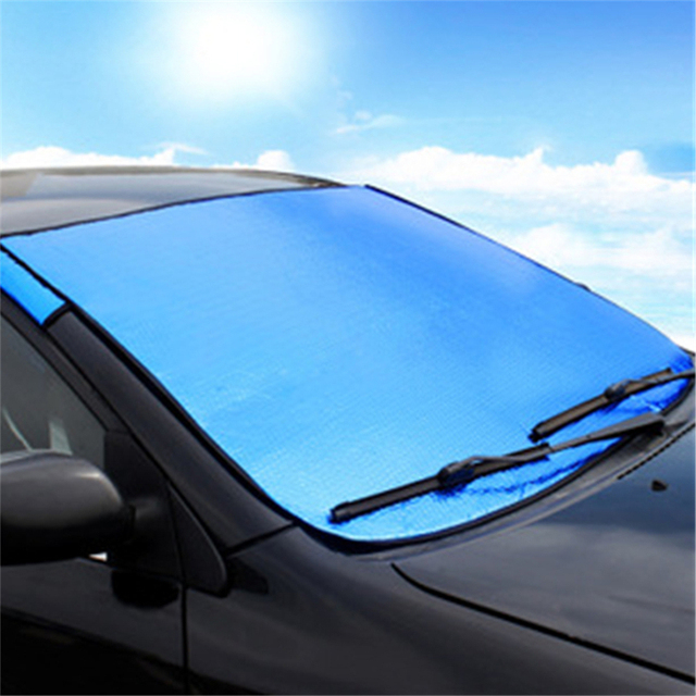 Universal Car Covers Styling Exterior Accessories Sun Visor Curtains with AL Sun Protection for Car Windshield Sun Shade TS20