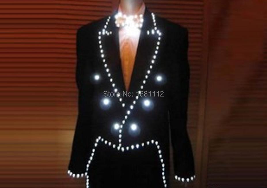 LED одежда/световой костюм/Александр робот/световой пальто/с подсветкой