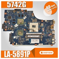 LA 5891P LA 5893P LA 5894P motherboard for Acer Aspire 5742G 5740 5741 motherboard with video card Test work 100% original