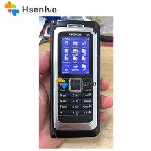 E90 NOKIA E90 мобильный телефон 3G GPS Wifi 3.2MP Bluetooth смартфон красный и подарок Восстановленный