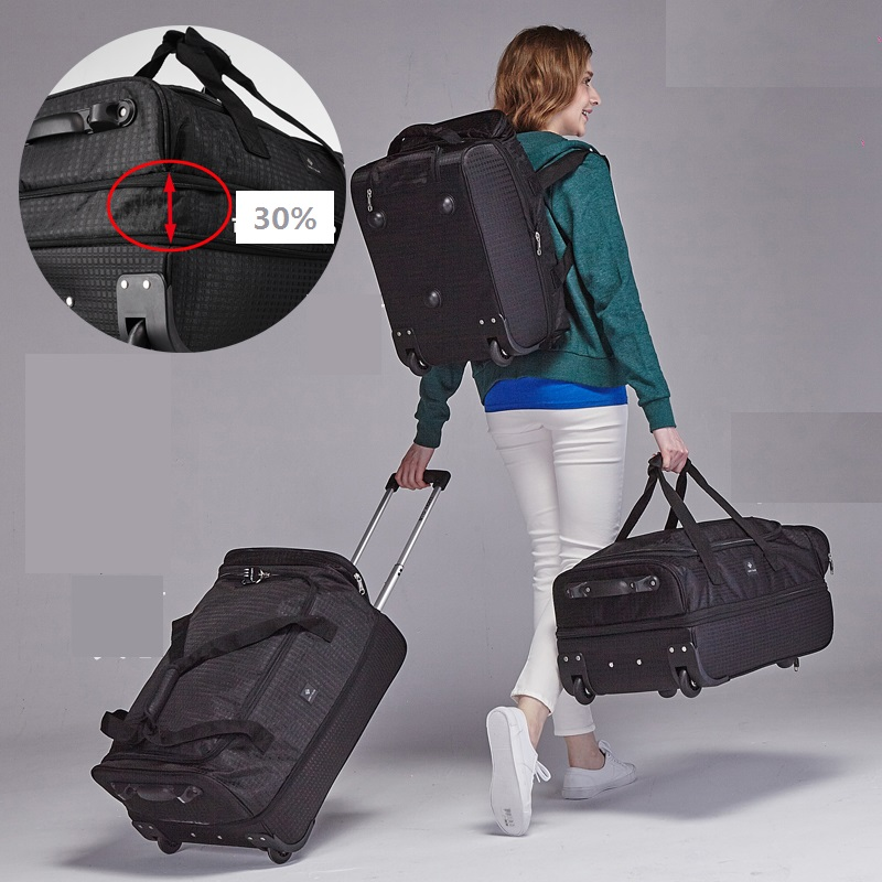 Fashion-18-20-22-inch-Extensible-Backpack-Travel-Bag-Casters-Trolley-Carry-On-Wheels-Women-Waterproof (3)