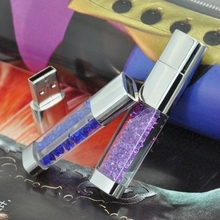Pen Drive Diamond 8gb 16gb 32gb 64gb Lipstick Jewelry Mini Usb Flash Drive Flash Memory Stick Gift Flash Card Disk Key Creativo