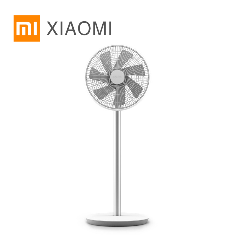 Original Xiaomi Mi Smart DC Frequency Stand Fan WiFi Phone APP Remote Control Built In Battery Comfortable Wind mx3 battery 3 battery m351 m355 phone b030 original built in battery