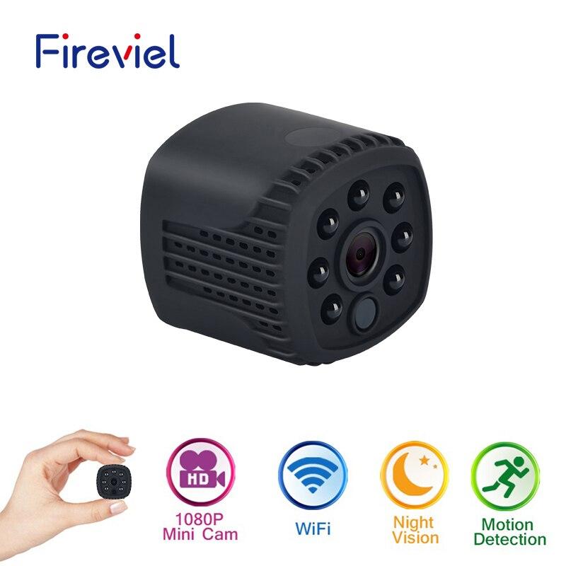 FHD 1080P mini bezprzewodowy wifi mini ip noktowizor cam małe mikro kamera wideo telefonu z systemem android i ios DV kamera DVR pc w Minikamery od Elektronika użytkowa na  Grupa 1