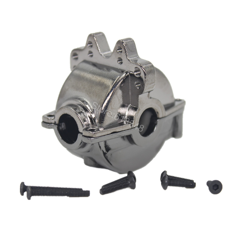 For RC WLtoys A959 Aluminum Differential Housing Gear Box A949-12 1/18 Off Road Buggy Metal Parts 1 12 feiyue 1 12 fy01 fy02 fy03 rear gear box assembly fyhbx01 rc car parts