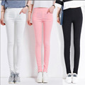 Large Size Women Pants Candies Color Skinny Leggings Stretch Pencil Pants Female Summer Spring Trousers Pantalon Femme Clothing