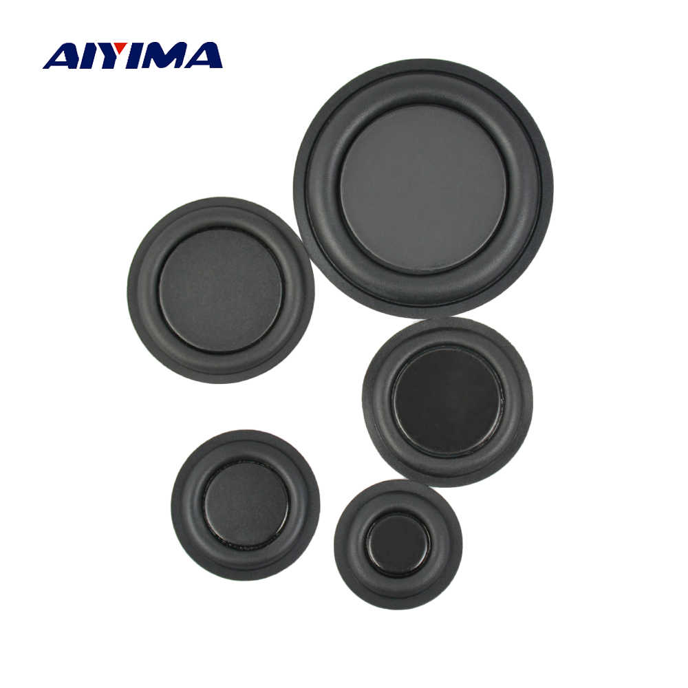 AIYIMA 2Pcs Audio Bass Vibrating Diaphragm Passive Radiator Speakers Repair Parts 30/35/40/45/62mm DIY For Speaker Accessories