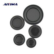 AIYIMA 2 pcs haut-parleurs de radiateur passif à diaphragme vibrant Audio basse pièces de réparation 30/35/40/45/62mm bricolage pour accessoires d'enceintes