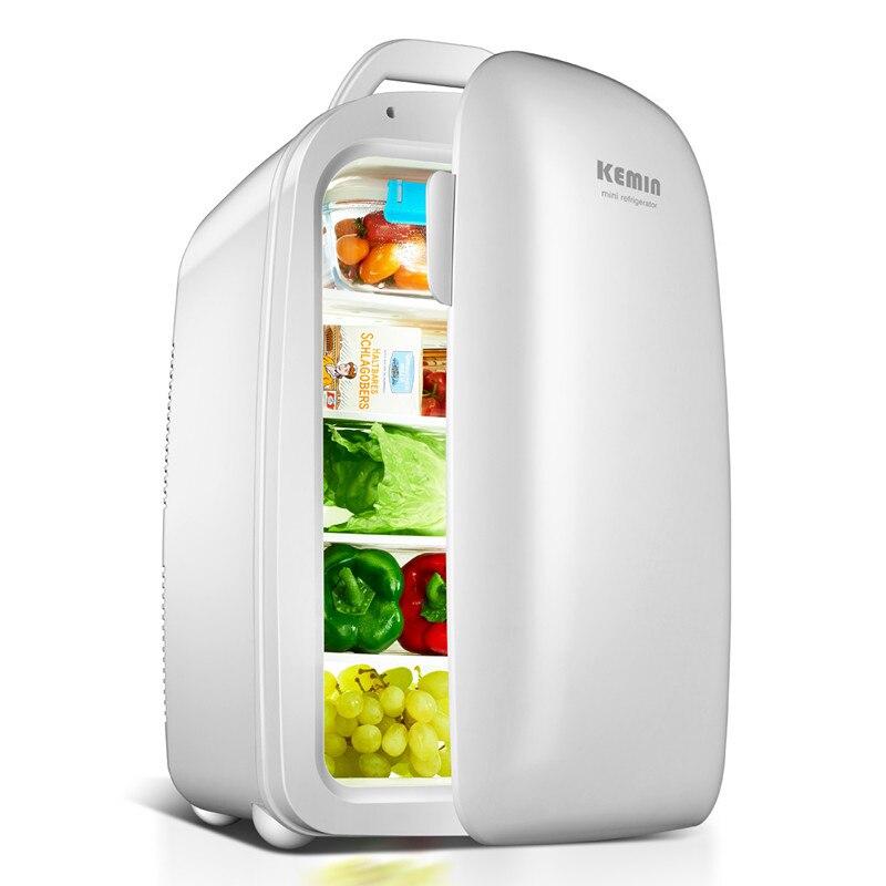 KEMIN 28L Dual Core Car Mini Refrigerator Mini Fridge Refrigeration Heating For Household And Car Use Portable Freezer 12V 220V|Refrigerators| |  - title=