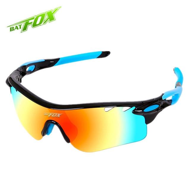 dfefd2fdb4 BAT FOX Polarized Cycling Glasses TR90 Outdoor Sport Sunglasses Men 2017  TAC Cycling Eyewear 5 Lens