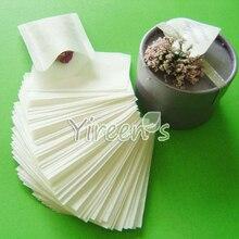 Горячая распродажа! Большая скидка! 1000 шт./лот, герметичные чайные фильтры 60X80 мм, Пустой чайный пакет, пищевая фильтровальная бумага, чистый фильтр-пакет