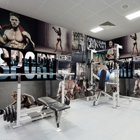 Free Shipping Customized Gym Yoga Gym Wallpaper Basketball Football Wallpaper 3D Stereo Sports Large Murals