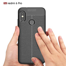 Carbon Fiber Case For Xiaomi RedMi 6 Pro / Soft Cover 6A Phone Cases Coque Fundas Etui Capa