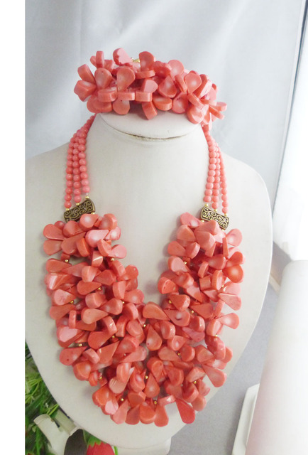 Aliexpresscom Buy Luxury 2017 Nigerian Coral Beads Bridal