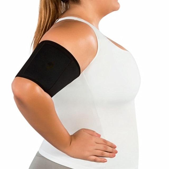 6dc4d55411 Slimming Arm-Shaper Sleeves Hot Body Shaper Women's Shapewear Neoprene  Slimming Belt Sauna Arm Sweating Weight Loss Arms Fitness