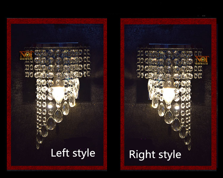 modern Bedroom Crystal Wall Lighting 3w e14 Led Wall Lamp home Luminaire bathroom Mirror led Light fixture home wall sconce modern lamp trophy wall lamp wall lamp bed lighting bedside wall lamp