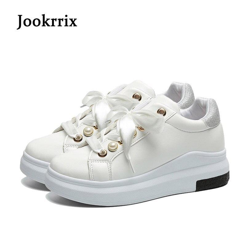 Lady Rose Croix Sneaker Casual gris Blanc blanc Mode Ruban Doux Femmes Perle rose De Noir Noir Nouveau Appartements attaché Jookrrix or Loisirs Chaussures Printemps xwvIqZXn6