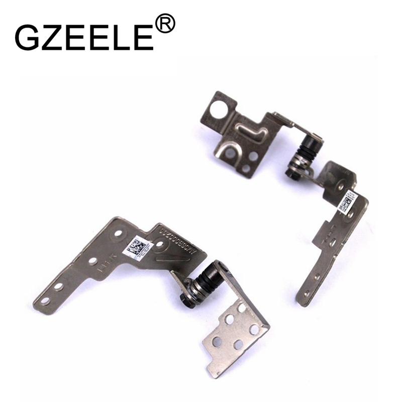 GZEELE NEW For <font><b>Lenovo</b></font> Ideapad <font><b>S400</b></font> S405 Left and Right <font><b>Hinges</b></font> Pair Set AM0SB000100 AM0SB000200 image